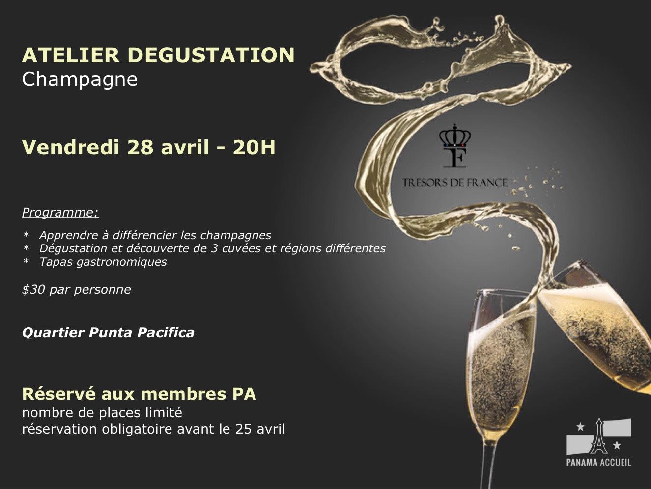 Atelier Dégustation de Champagne